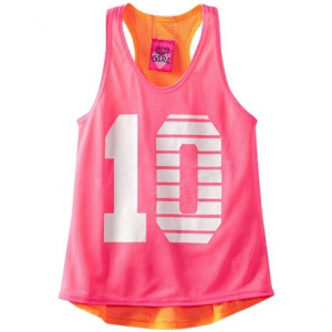 Derek Heart Girl 7-16 Reversible Mesh Tank